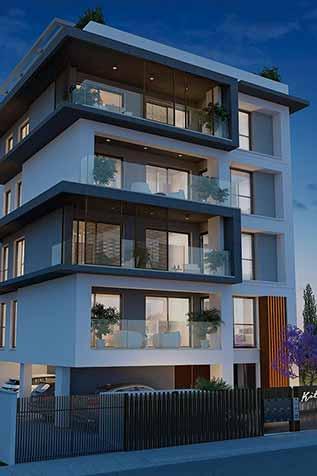 Kitiou Residences in Larnaca